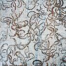 Frost Pattern on Outdoor Table by patjila