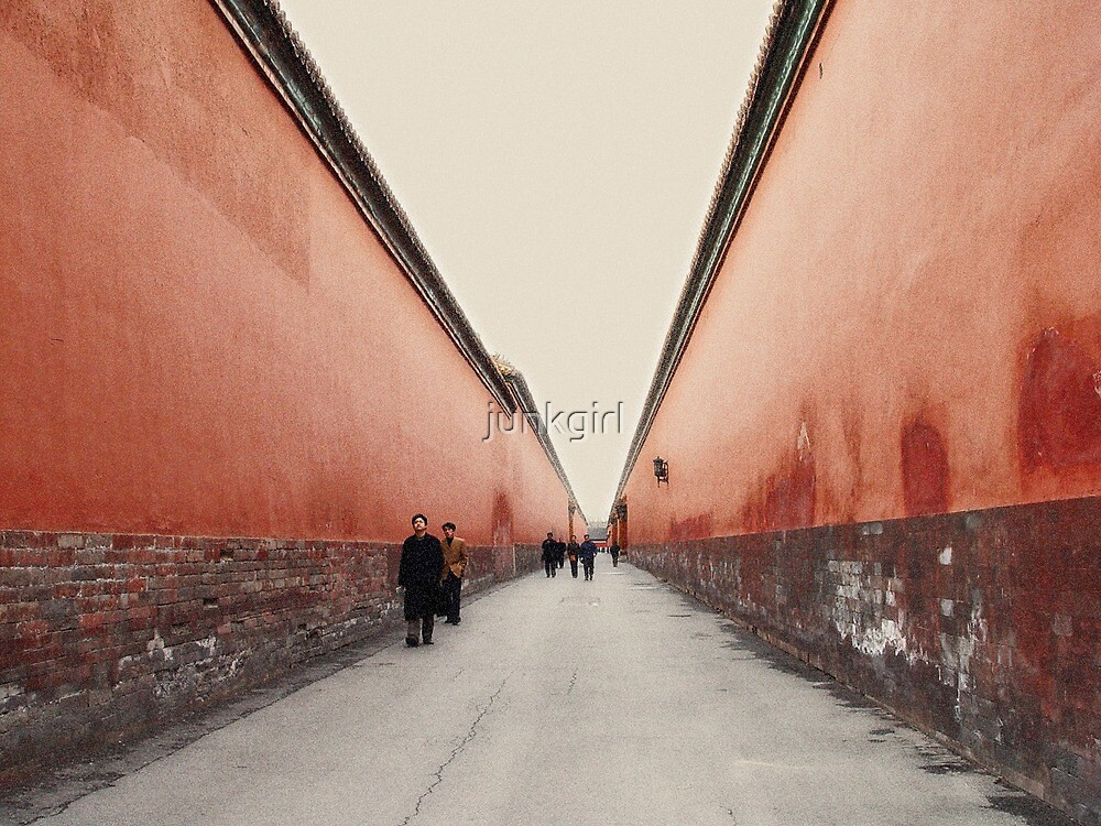 Between The Red Walls by junkgirl