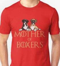 Boxer Dog Funny Design - Mother Of Boxers  T-Shirt