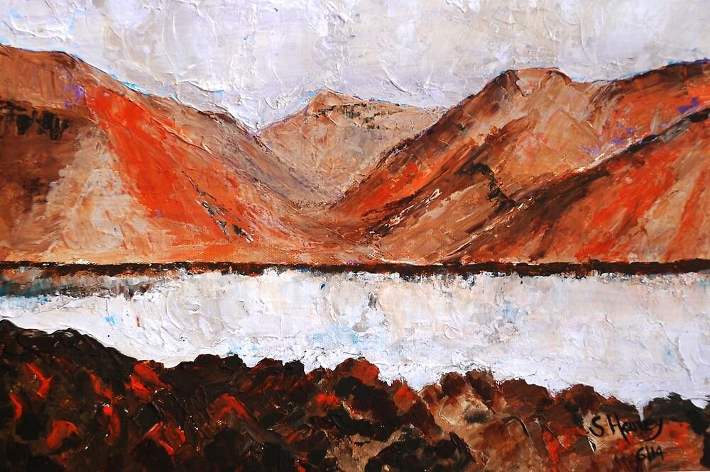 Autumn Lake by Susan Harley