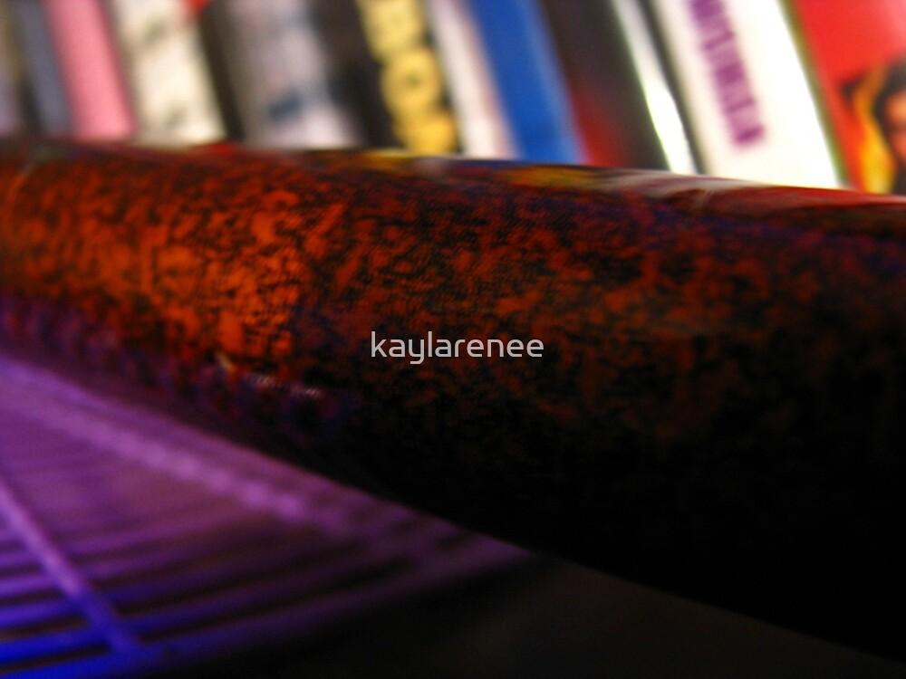 Samurai Abstract by kaylarenee