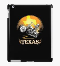 Texas Motorcycle Gang Hobby Graphic Design  iPad Case/Skin