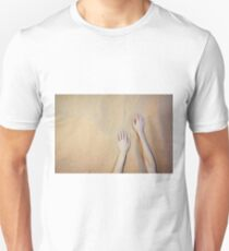 Sandy Dune Nude - The Hands T-Shirt