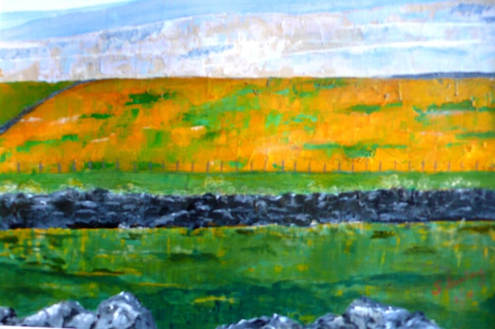 Northumbrian Meadow by Susan Harley