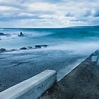 Boat Ramp Jetty by metriognome