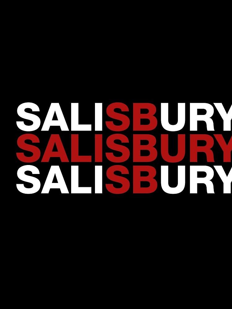 Salisbury United Kingdom Flag Shirt - Salisbury T-Shirt by ozziwar