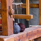 old loom weaving by spetenfia