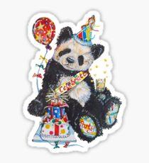 Mr Bubbles, the Party Panda Sticker
