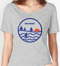 East Coast Yeti Women's Relaxed Fit T-Shirt