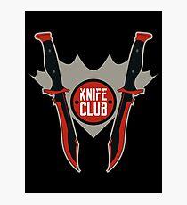 CSGO Knife Club - Bowie Knife Photographic Print