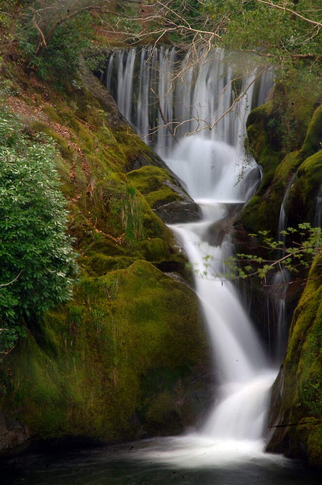 waterfall by Andrew Chittock
