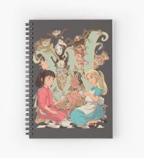 Wonderlands Spiral Notebook