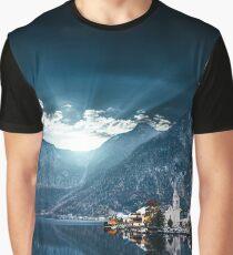 hallstatt in austrian alps Graphic T-Shirt