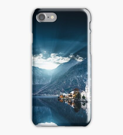 hallstatt in austrian alps iPhone Case/Skin