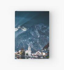 hallstatt in austrian alps Hardcover Journal
