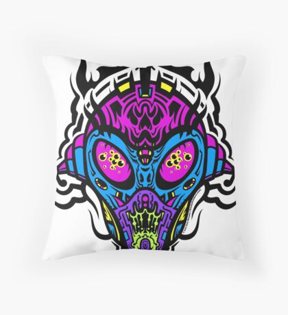 Stranger Still - The Pretty Colors Throw Pillow