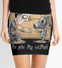I Am Not Your Mummy Mini Skirt