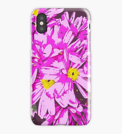 Archos Neon Android Flower Arrangement iPhone Case/Skin