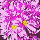 Archos Neon Android Flower Arrangement by patjila