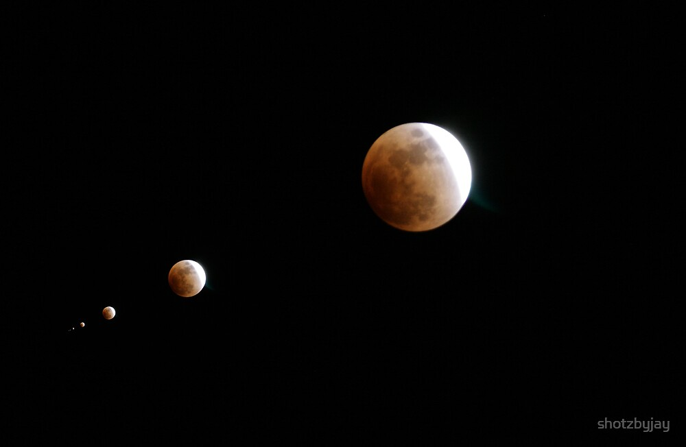 Lunar Eclipse - Kimmie said to have fun! by shotzbyjay