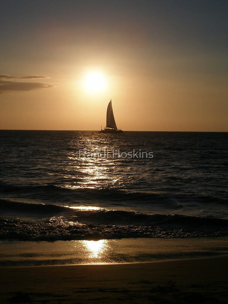 Sail Away #2 by Randi Hoskins