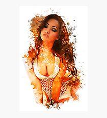 Melanie Iglesias Painting Photographic Print