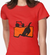 TRACTOR AND DIGGING DOG  T-Shirt