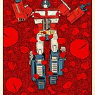 EVERYONE RELAX - Transformerican Beauty by James Fosdike