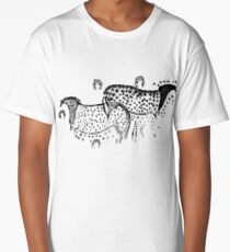 Dappled Horses of Pech Merle Long T-Shirt