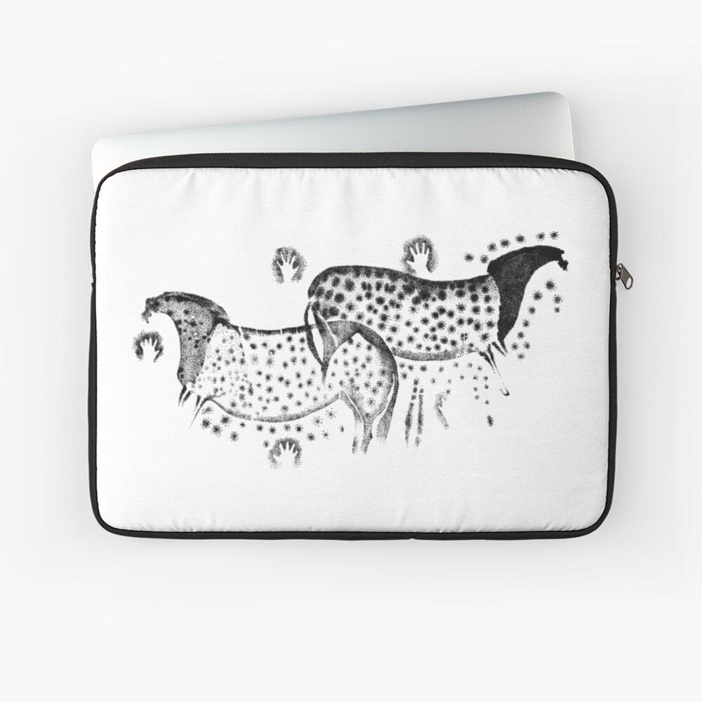 Gefleckte Pferde von Pech Merle Laptoptasche