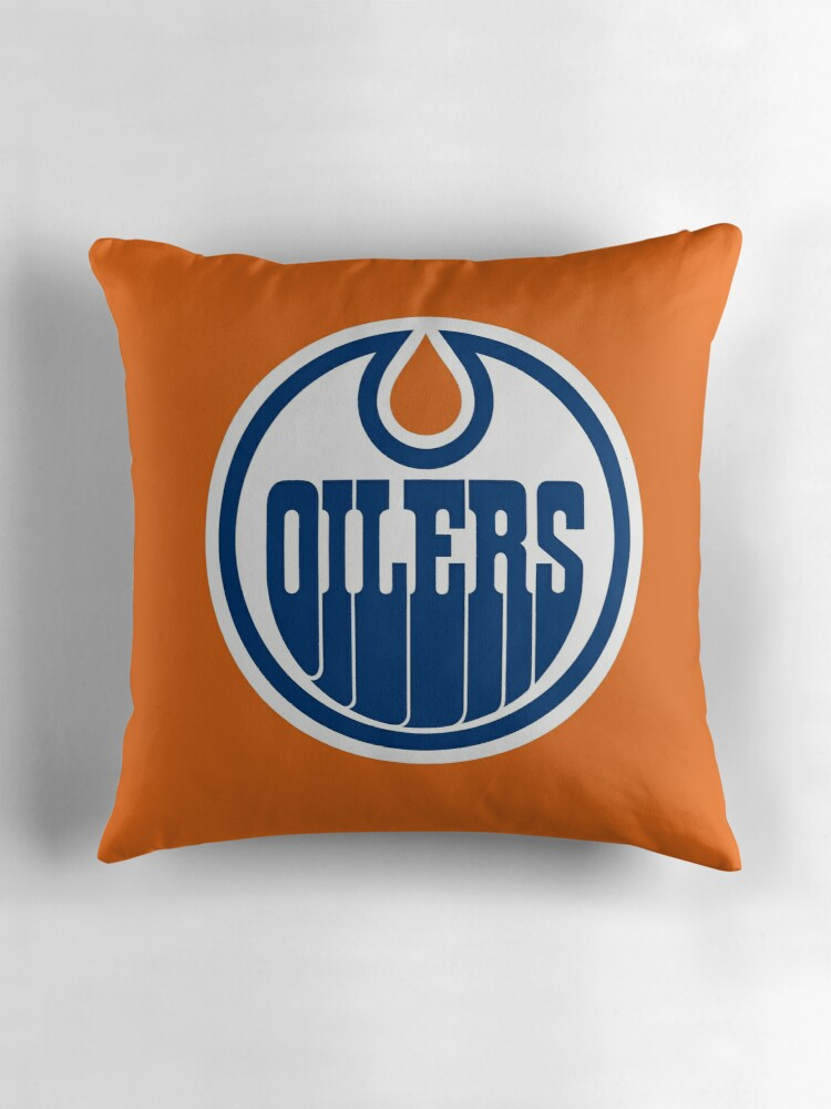 "Edmonton Oilers"" Throw Pillows by p3ggyanderson"
