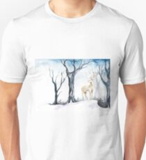 Deer in the Forest Unisex T-Shirt