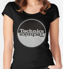 Technics classic Women's Fitted Scoop T-Shirt