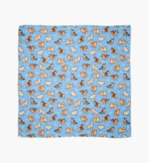 shibes in light blue Scarf