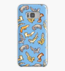 chub geckos in blue Samsung Galaxy Case/Skin