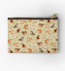 shibes in cream Studio Pouch