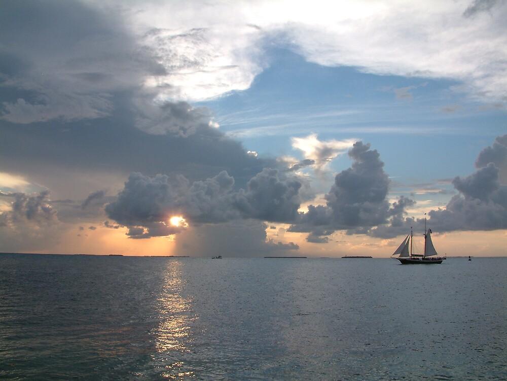 Key West Sunset by Cayobo