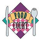 Food Court Retro Design by artbyedo