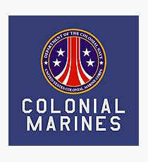 Colonial Marines : Inspired by Aliens Photographic Print