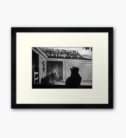 I'm in the Movies Now!  Framed Print