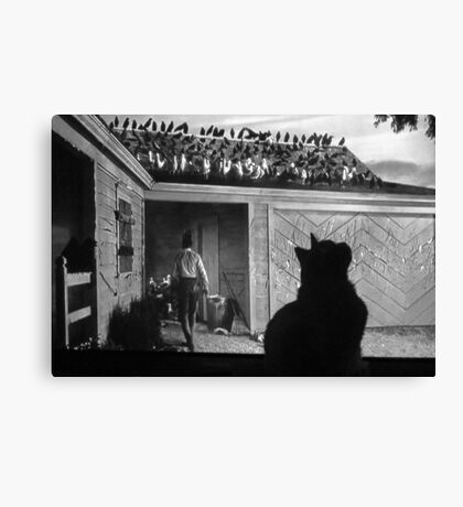 I'm in the Movies Now!  Canvas Print