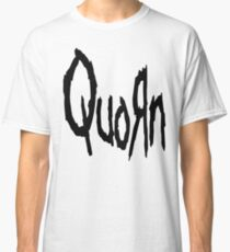 Quorn Stretched Logo Nu Metal Vegan Vegetarian Design Korn Classic T-Shirt