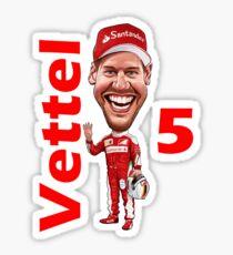 NEW 2017 Sebastian Vettel Sticker