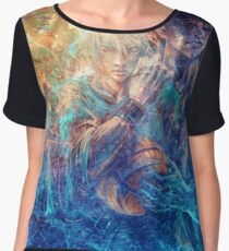 From oceans we rose Chiffon Top