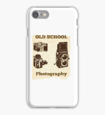 Old School Photography Design iPhone Case/Skin