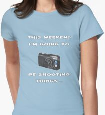 Photographer Design Womens Fitted T-Shirt