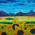 Sicilian Sunflowers by George Hunter
