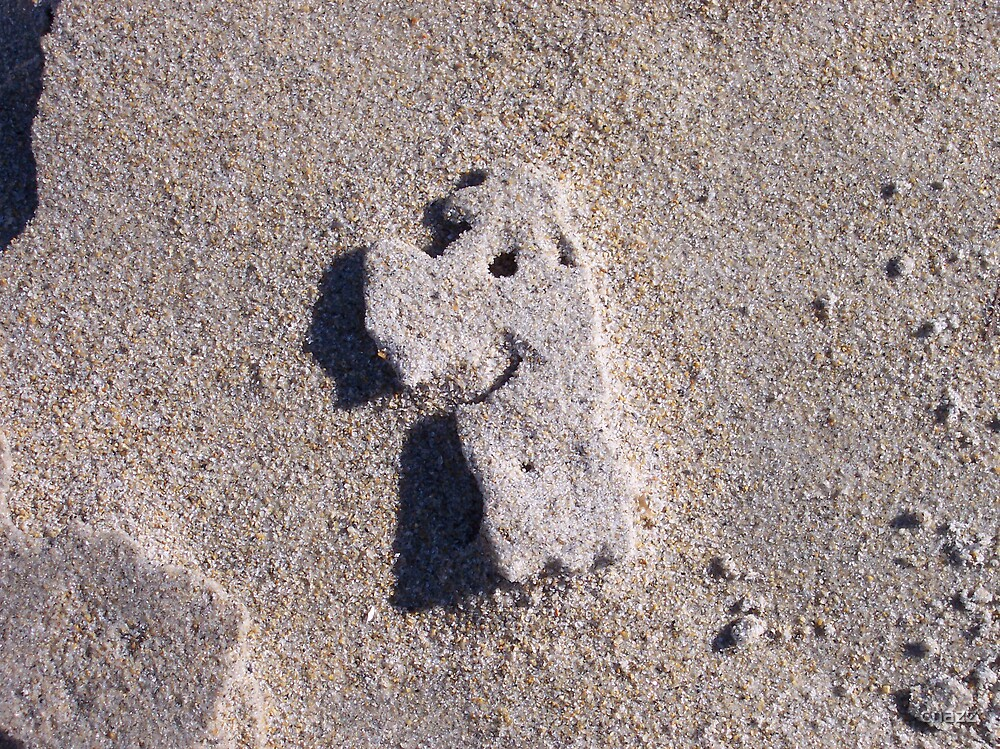 Image in Sand by chazz