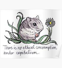 Communist Hamster Poster