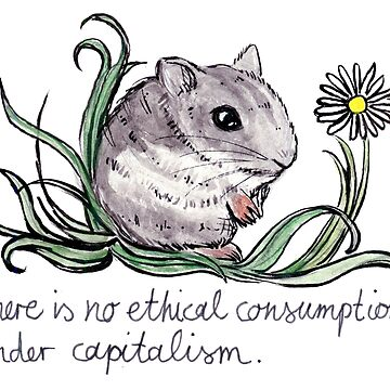 Communist Hamster by lyle23